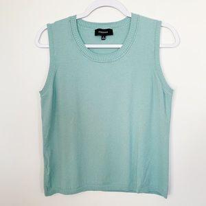 Jones/Wear Green Crop Top Size XL